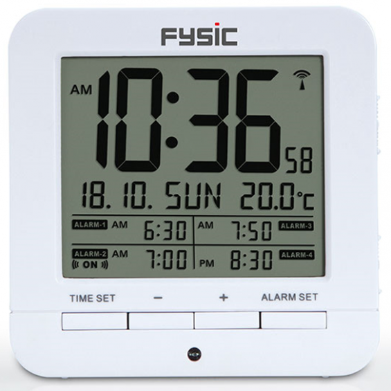 Fysic alarm klok FKW-8