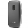 Doro 6030 GSM klaptelefoon - Antraciet/Wit + hoesje t.w.v. 19,95