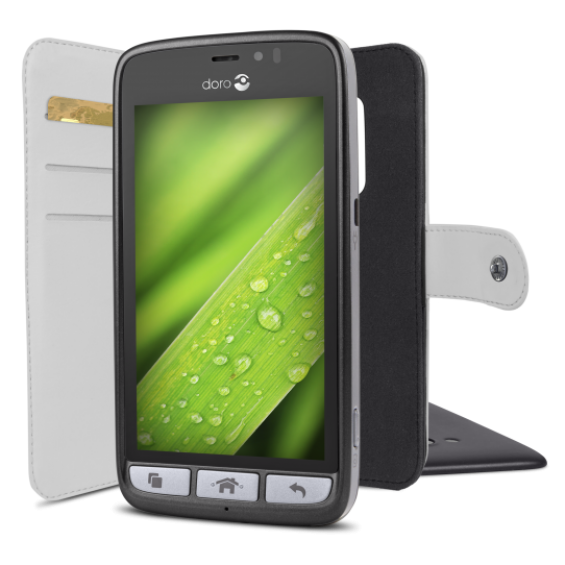 Walletcase Doro 8031 - Wit