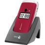 Doro Primo 413 rood - Senioren klaptelefoon met extra grote toetsen