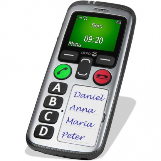 Doro Secure 580 seniorentelefoon - IUP