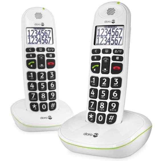 Doro Senioren DECT-telefoon PE-110 Duo - Wit