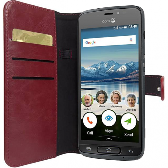 Walletcase Doro 8040 - Rood