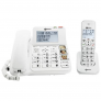 Senioren combi telefoon met antwoordapparaat | Geemarc DECT295-2