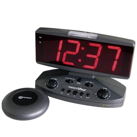 Alarm klok met tril functie| Geemarc