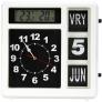 Fysic FKW-248 Jumbo kalenderklok met weerstation