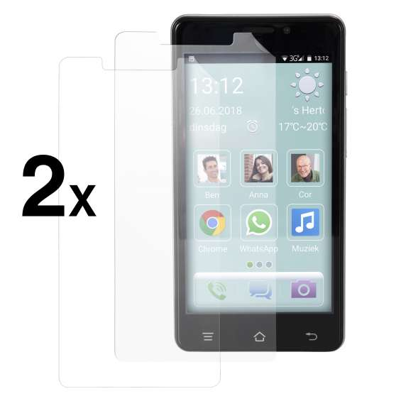 Fysic F101 screenprotector (2 stuks)