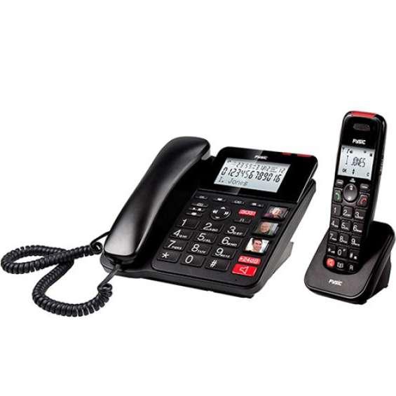 Senioren DECT telefoon combo met antwoordapparaat | Fysic FX-8025