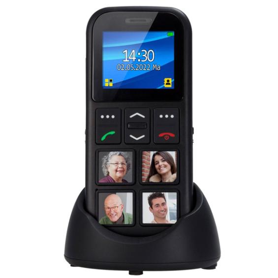 Mobiele telefoon met fototoetsen en GPS