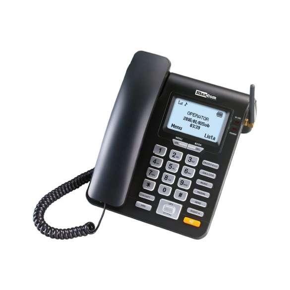 Draadloze vaste telefoon met SMS functie   Maxcom MM28D