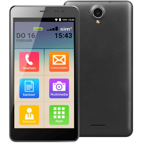 SimPhone 3 | 4G + Gratis walletcase twv € 29,95