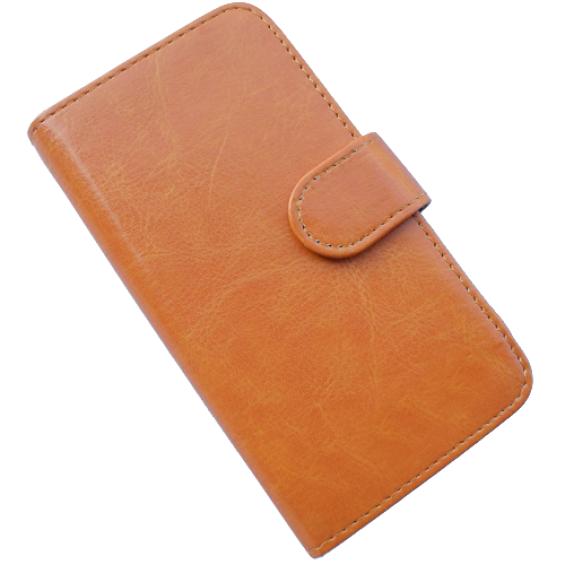 Simphone 3 Walletcase - bruin