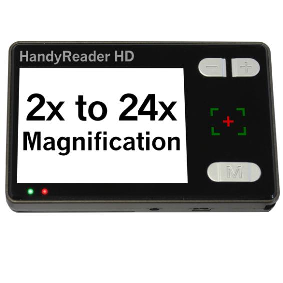 Handyreader - elektrische handloep