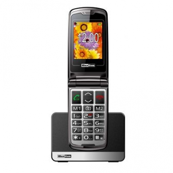 Maxcom MM 822 BB klaptelefoon - Wit