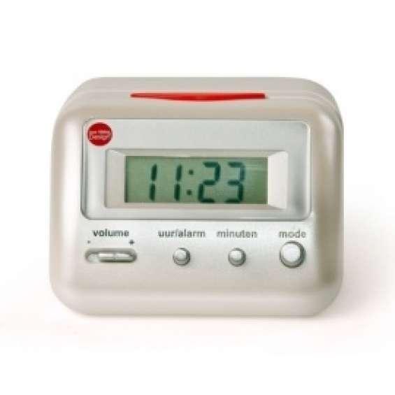 Sprekende wekker / klok met optionele snooze functie