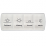 Anabox Compact pillendoos - Wit