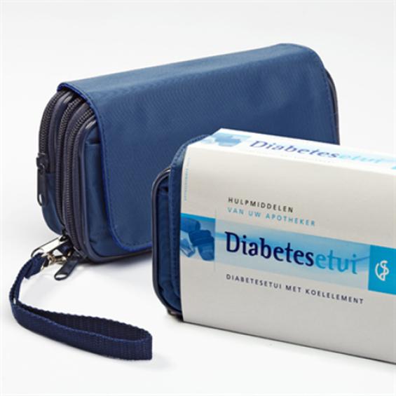 Diabetesetui met koelelement
