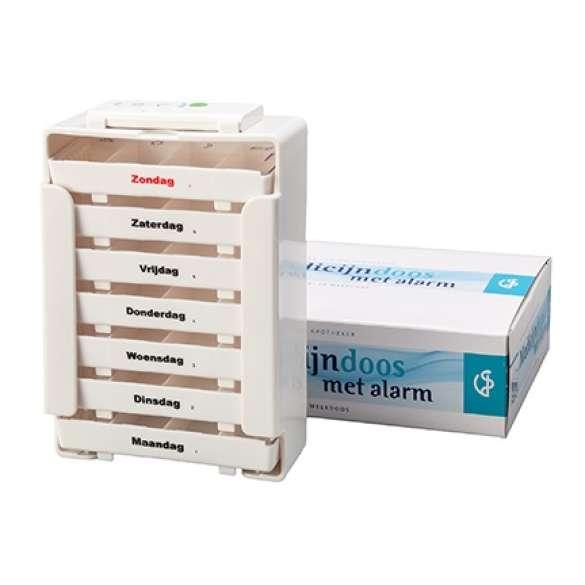 Pillenbox   Medicijndoos met alarm