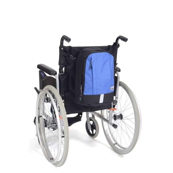 Rugzak Mobility klein zwart/blauw