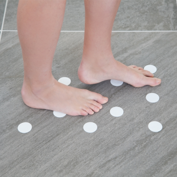Anti slip rondjes badkamer - 72 stuks