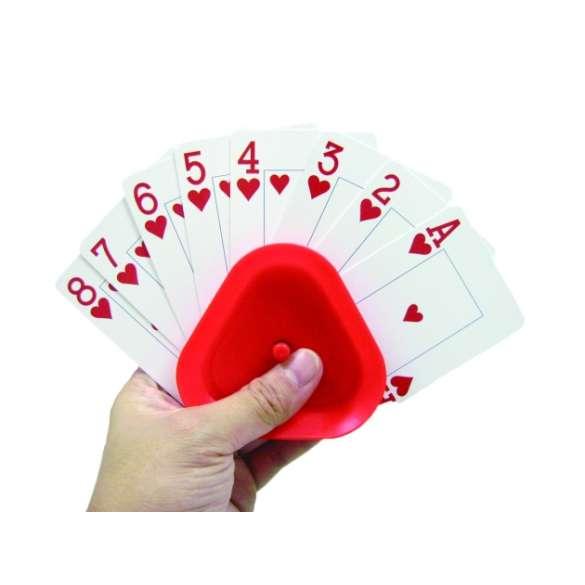 Kaartenhouder voor gemakkelijk vasthouden van speelkaarten.