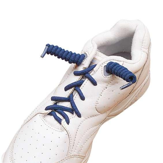 Krulveters / schoenveters zwart