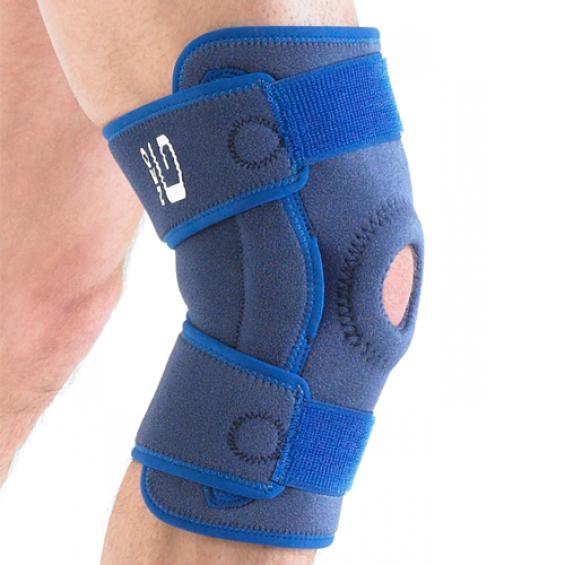 Neo G Stabiliserende kniebrace open met scharnier