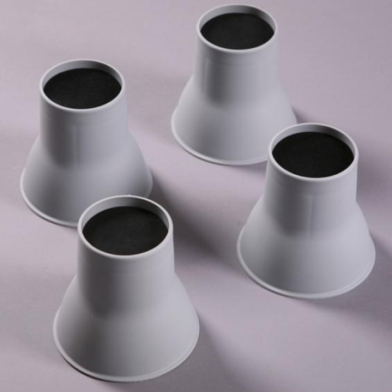 Olifant poten bed- en stoelverhogers - 9 centimeter