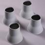 Olifant poten bed- en stoelverhogers - 14 centimeter