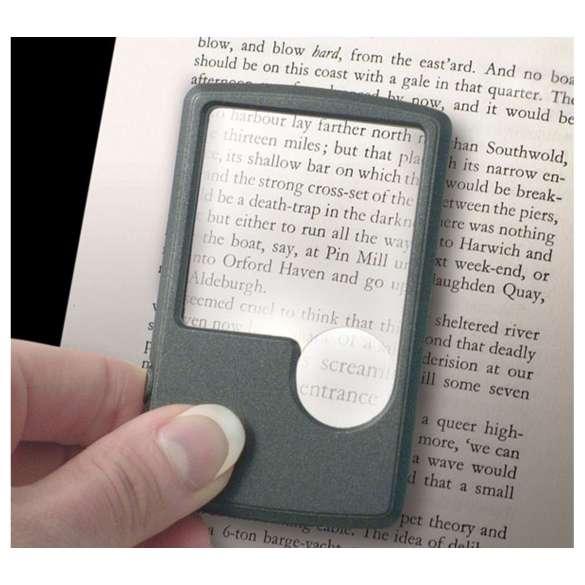 Pocket vergrootglas met verlichting