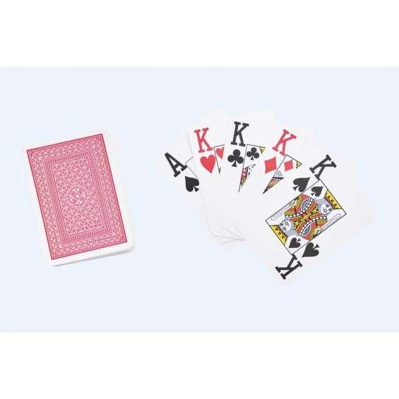 Speelkaarten poker groot logo   Enkele stok