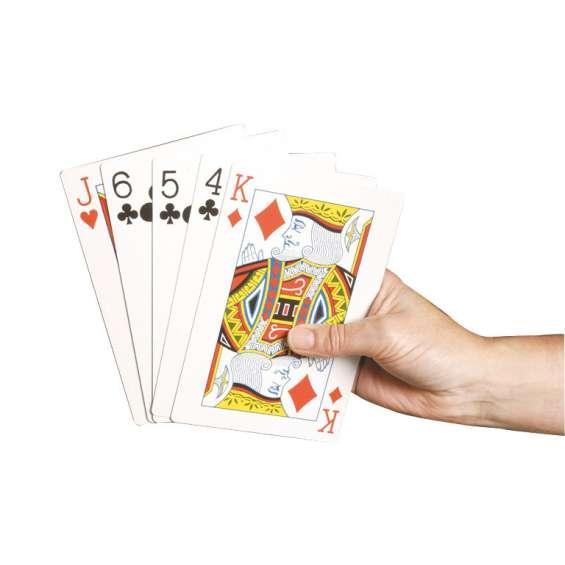 Speelkaarten extra groot