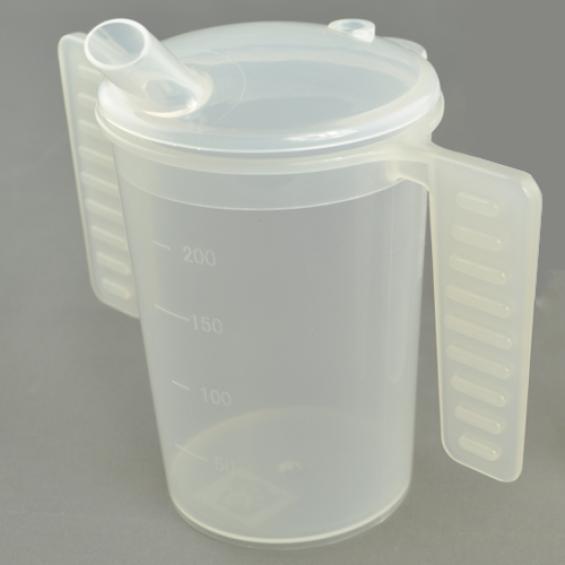 Drinkbeker met platte handgrepen - 200 ml