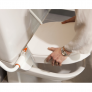 Hi Loo toiletverhoger met armleuning