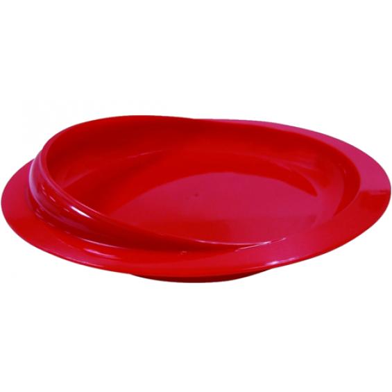 Schepbord met zuignap - rood