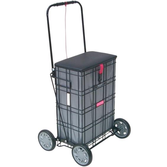 Shopping Trolley met zitting