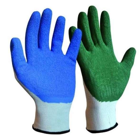 Handschoen voor aan- en uittrekken van steunkousen | Aantrekhulp