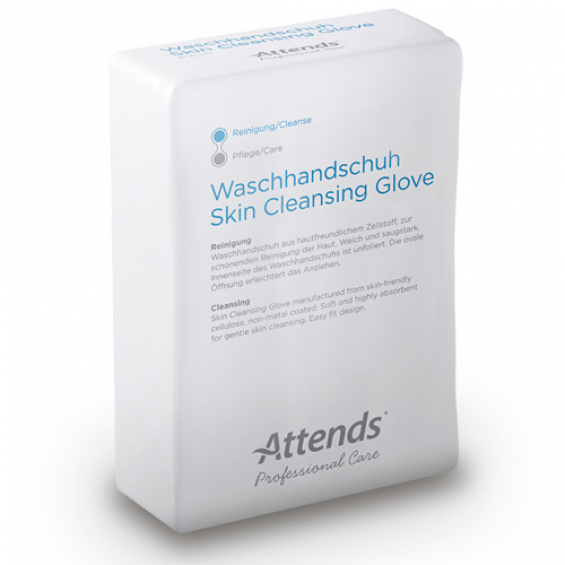 Attends Cleansing Gloves - Droge washandjes