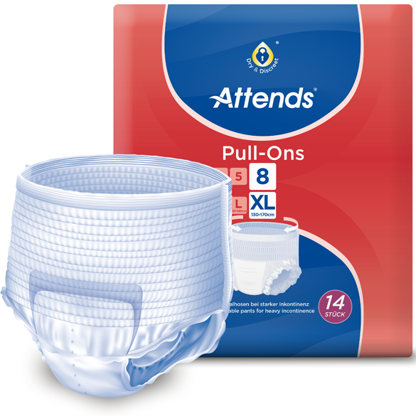 Attends Pull-Ons 8 - Extra Large