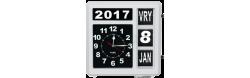 XXL kalenderklok