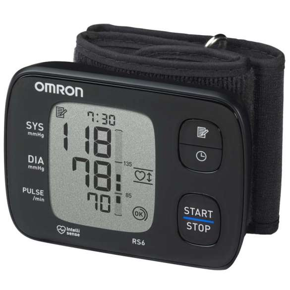 Omron RS6 Bloeddrukmeter | Polsbloeddrukmeter | Nieuw NL model 2015