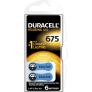 Duracell DA675 hoorapparaat batterij - Blauw