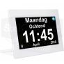 Digitale kalenderklok met Nederlandse spraak