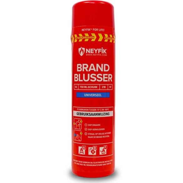 Neyfik spray-blusser 750ml Universele Brandblusser