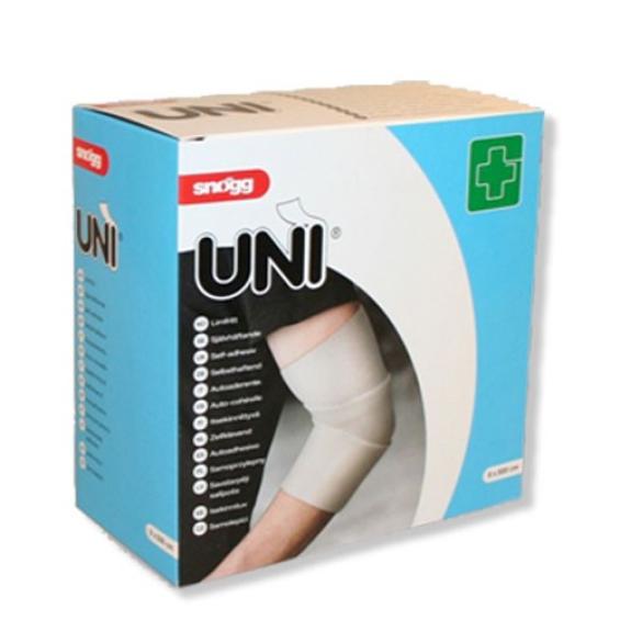 Snogg Uni Next - zelfhechtend wondverband - 8cm x 5m