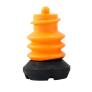 Flexyfoot voetstuk zwart | Vervangbare voet stokdop