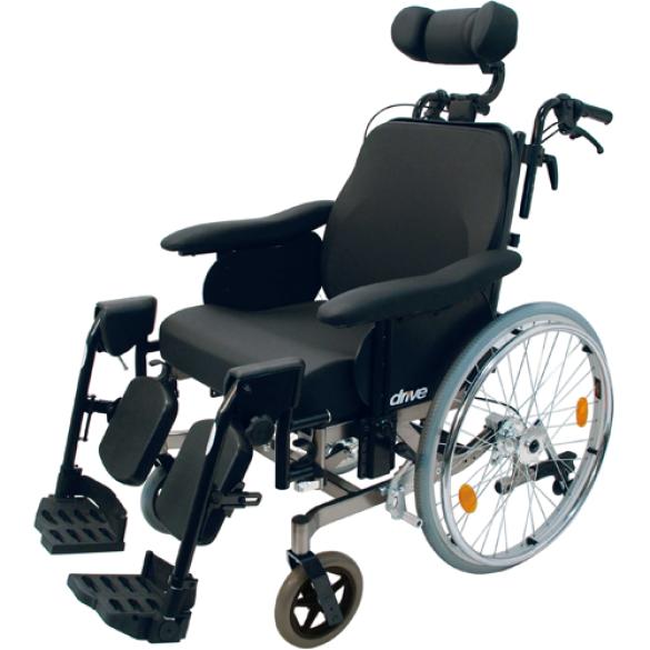Kantelbare rolstoel Multitec - Zitbreedte 44 cm