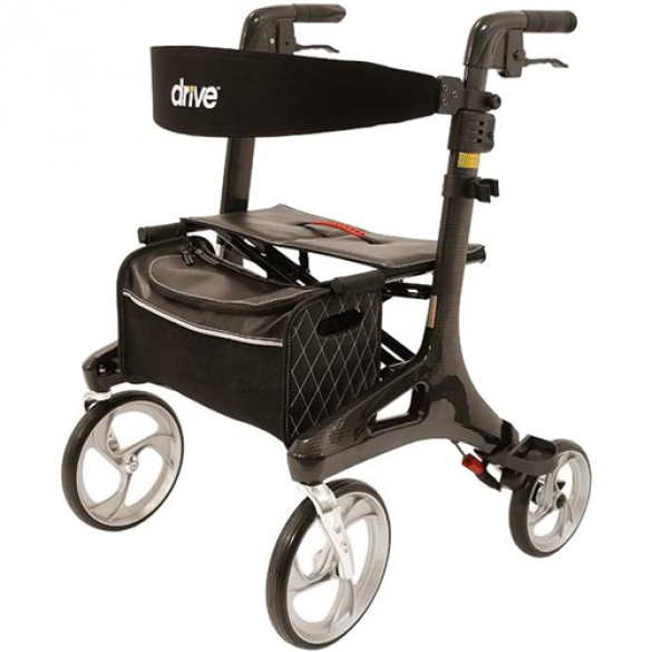 Drive Nitro Carbon rollator large - 6,8 kg