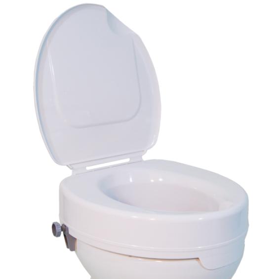 Toiletverhoger Ticco 2G met deksel