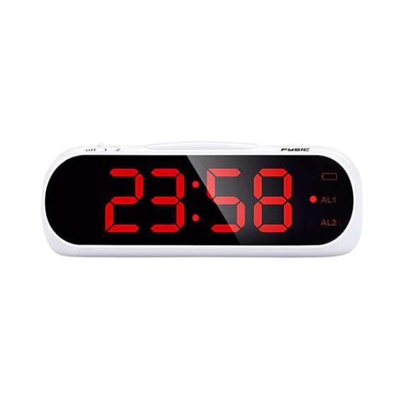 Wekker met optioneel trilalarm voor slechthorenden | Fysic FC-240